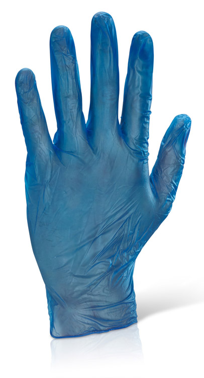 vinyl disposable gloves powered