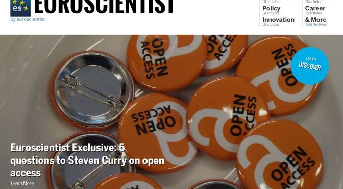 Check our Noowit Edition for curated content on open access