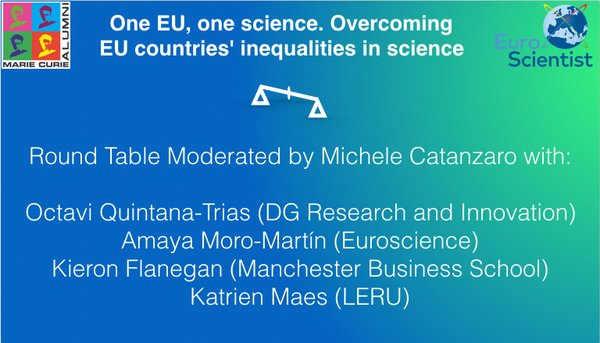 Webinar: one EU, one science