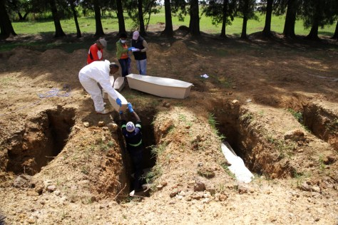 Doornkop Cemetery in Soweto began burying paupers last year, but the graves remain unnumbered and unmarked.