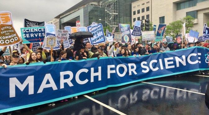 Science March 2018: be ready for science activism