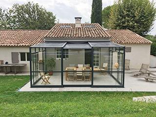 a very modular patio cover
