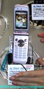 DoCoMo FOMA 3G cell phones by NEC