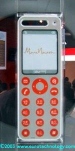 "AU/KDDI Design Series Concept Phones ""talby"" design by Marc Newson"