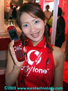 Vodafone at Wireless Japan 2003