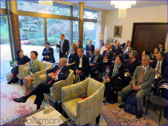 8th Ludwig Boltzmann Forum, Embassy of Austria in Tokyo, 18 March 2016