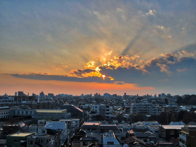 Tokyo sunset