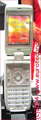 KDDI 3G mobile handset W21SA