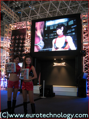 Rumble Rose at Tokyo Game Show TGS2004