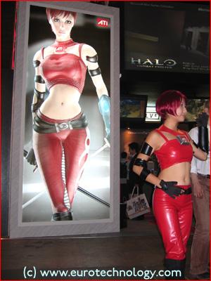 ATI at Tokyo Game Show TGS2004