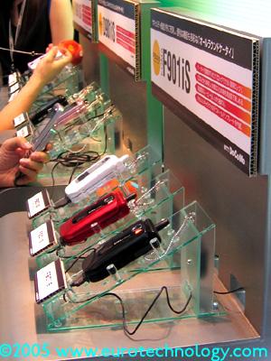 3G phones by Fujitsu: F3091iS
