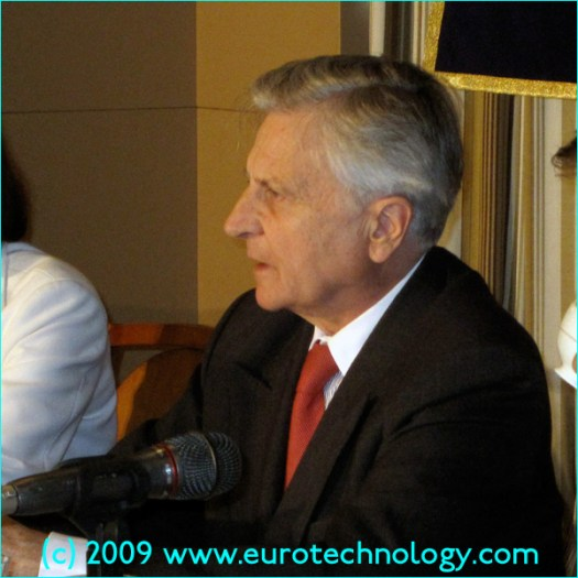 European Central Bank ECB President Jean-Claude Trichet