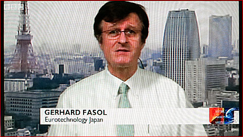 Gerhard Fasol on BBC TV about