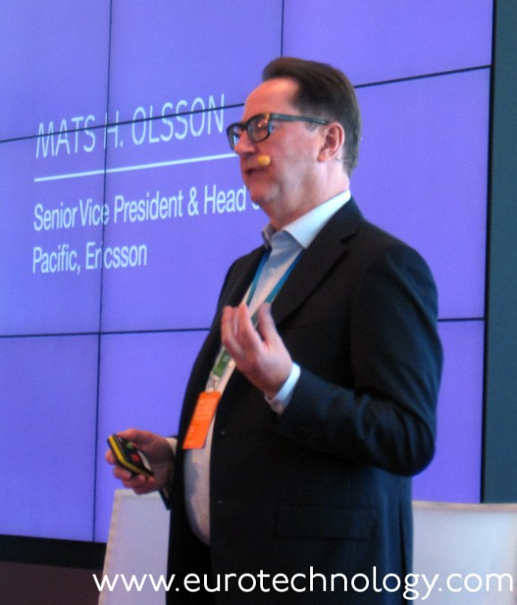 Mats H Olsson, Head of Asia-Pacific, Ericsson