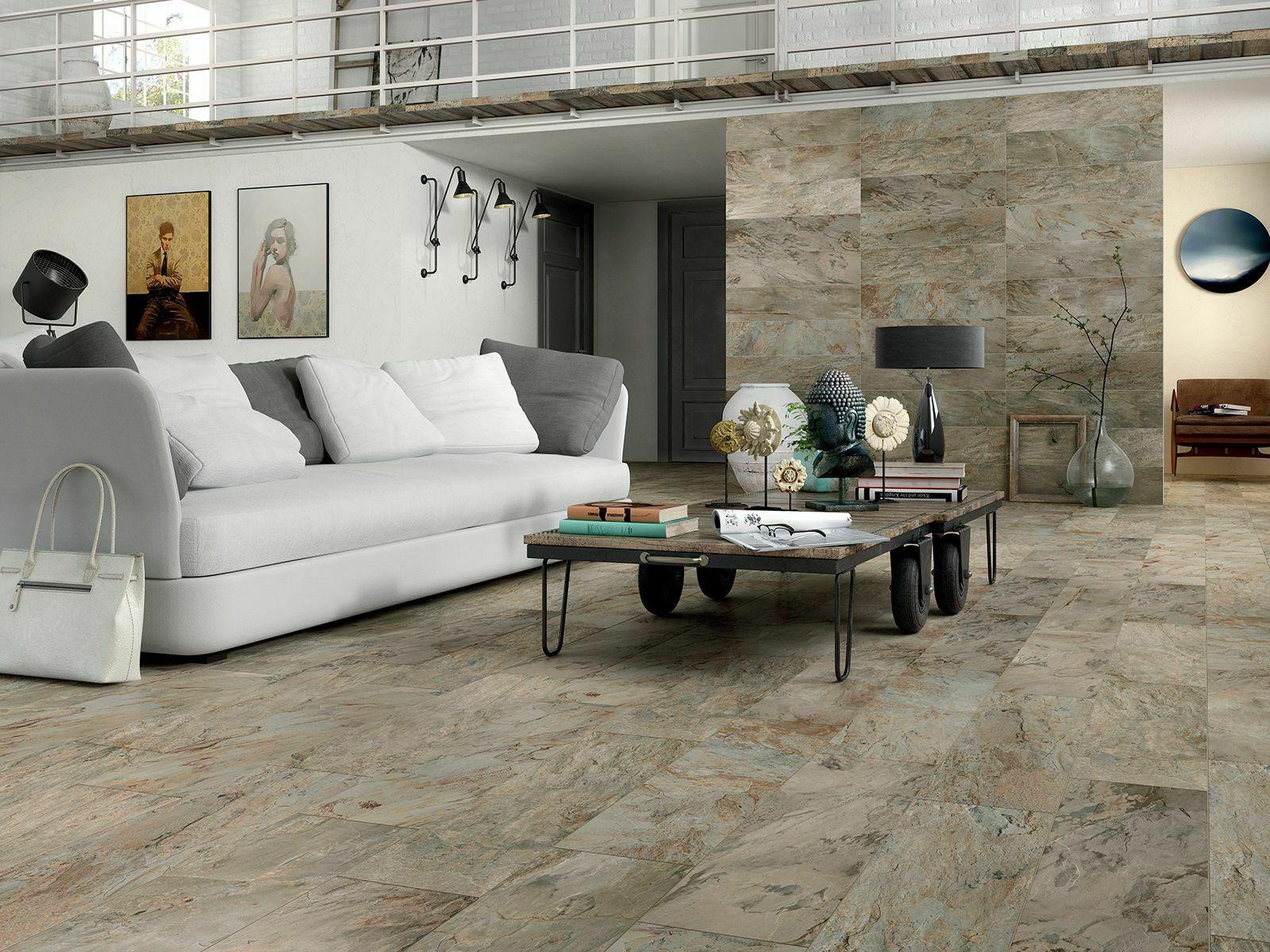 rochester slate effect wall floor tiles 40x80cm in 4 colours