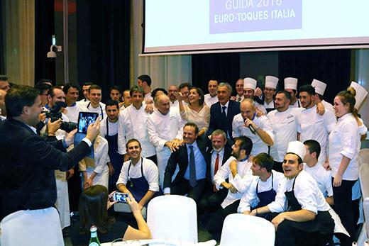 Dare valore a cucina, prodotti e ospitalitàUn successo la cena di Euro-Toques