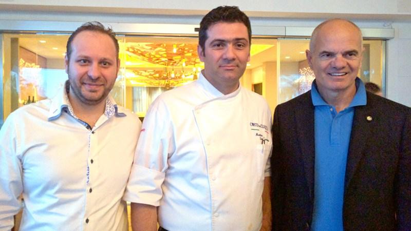 La cucina di Matteo Sangiovanni apre il congresso Euro-Toques Italia
