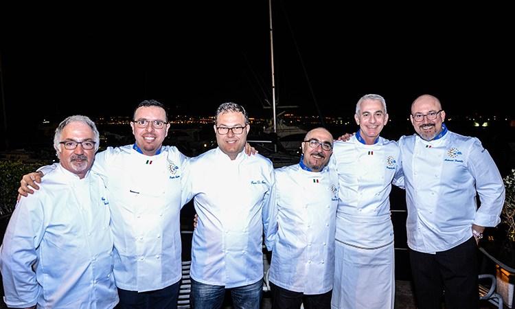 Cena a 12 mani… made in Sicily L'ingresso di sei cuochi in Euro-Toques