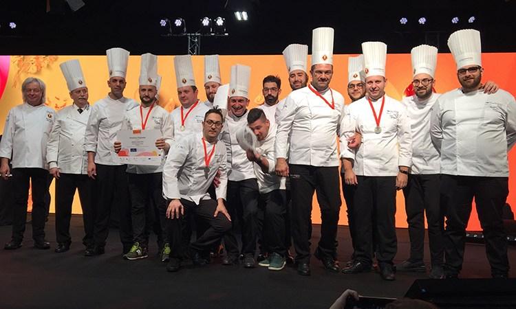 Team Costa del Cilento Euro-Toques L'argento alla Culinary World Cup