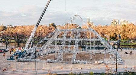 Building a 18 meter high Pyramid In Australia