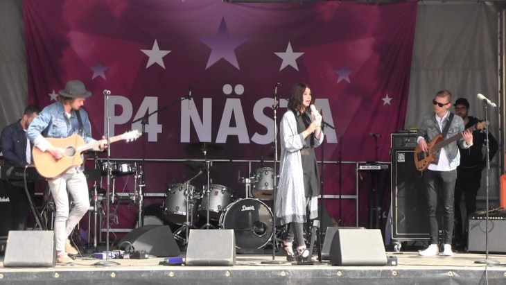 PHIA at P4 Nästa. All credit goes to copyright owner.