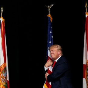 Donald Trump in Florida / Jonathan Ernst, Reuters