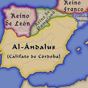 Territory of Al-Andalus at its greatest territorial span, Aprende Lengua de Signos, 2013