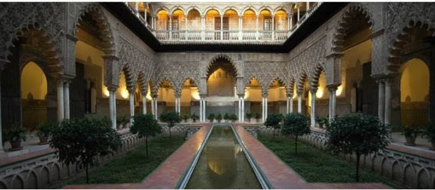 Alcázar of Seville from the webpage Real Alcázar