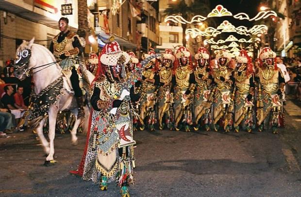 Moros y Cristianos parade, Valencia, Wikipedia, 2005