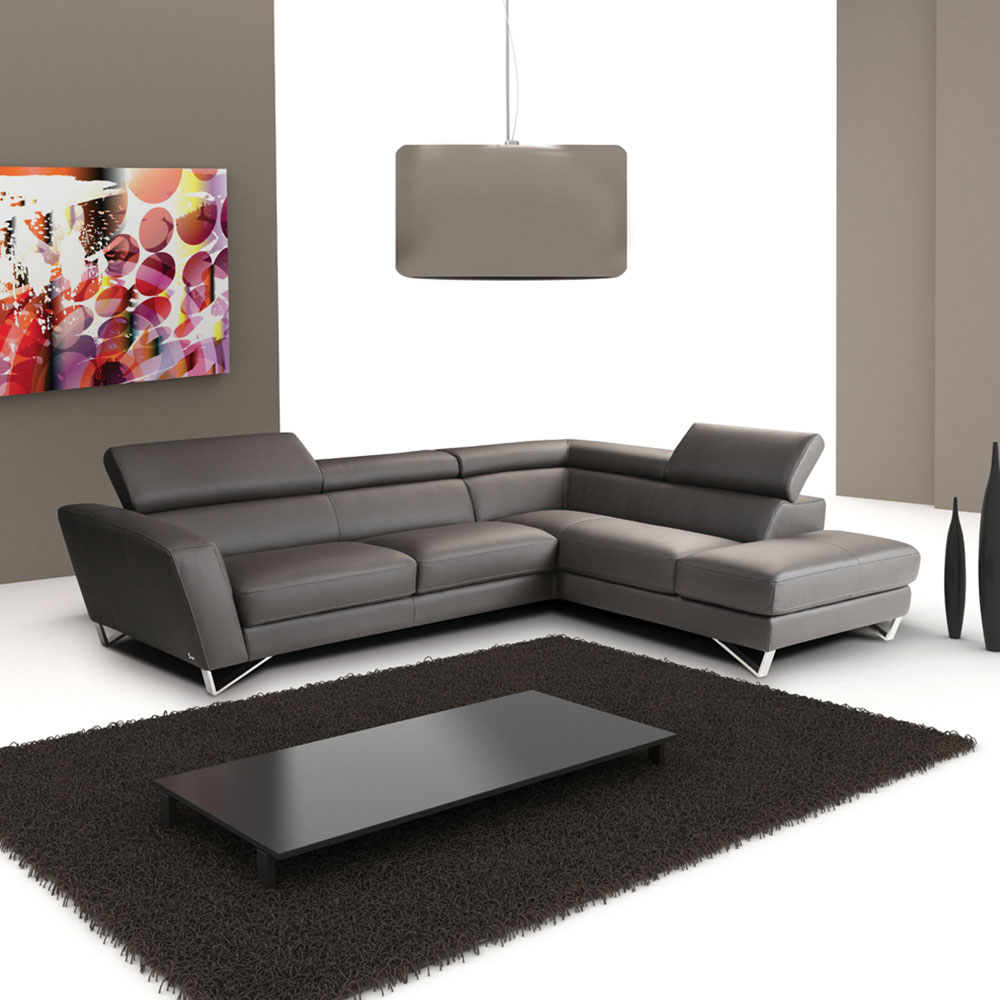 Sparta Modern Leather Sectional | Eurway Furniture on Sparta Outdoor Living id=64664