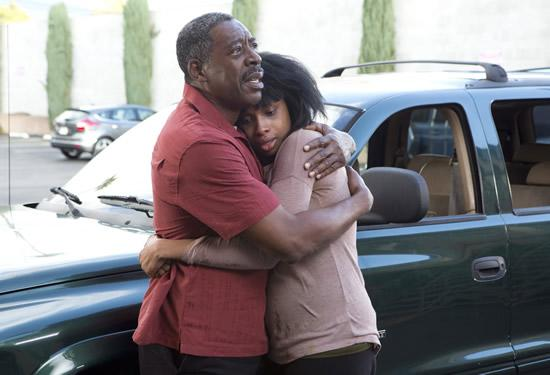 "Ernie Hudson and Jennifer Hudson in Lifetime's ""Call Me Crazy: A Five Film"""