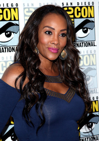 Vivica A. Fox attends the 'Sharknado: The Second One' press line during Comic-Con International 2014 at Hilton Bayfront on July 24, 2014 in San Diego, California