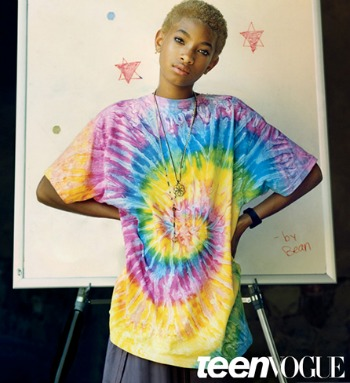 willow smith, teen vogue,