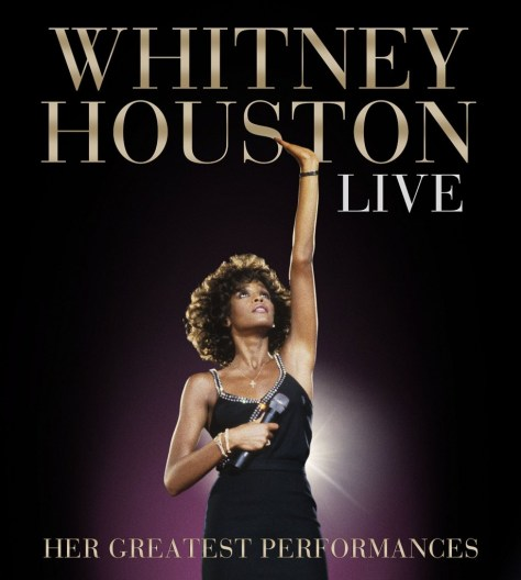 The cover of Whitney Houston's first live album, due Nov. 10 from Legacy Records