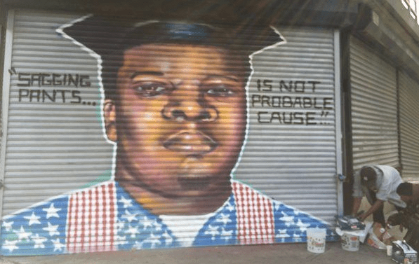 Michael Brown mural