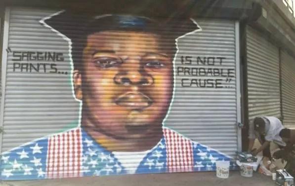 Michael Brown mural
