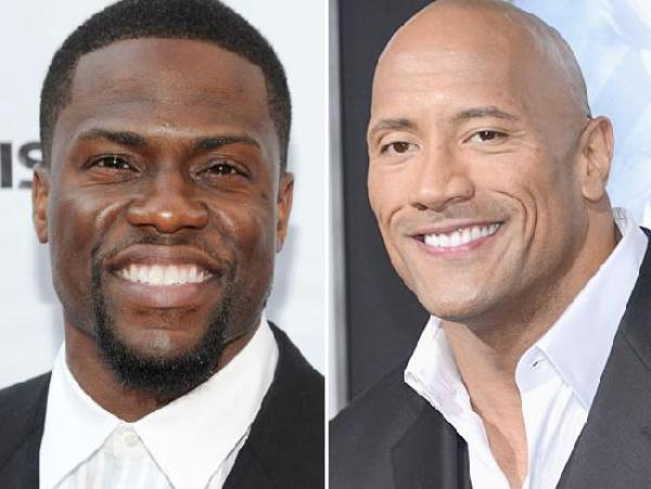 dwayne johnson & kevin hart, central intelligence