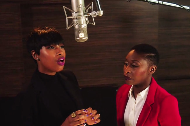 Jennifer Hudson and Cynthia Erivo