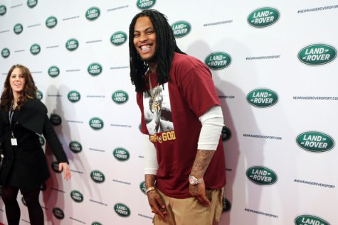Waka Flocka attends the all-new Range Rover Sport reveal on March 26, 2013 in New York City. (March 25, 2013 - Source: Neilson Barnard/Getty Images North America)