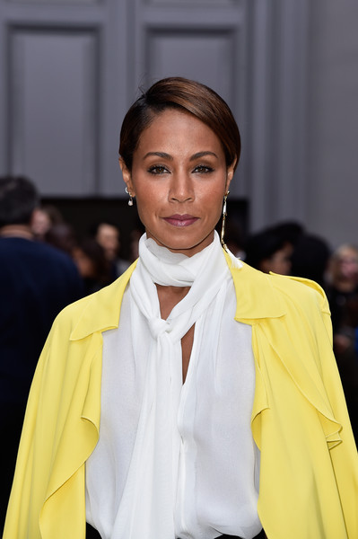 Actress Jada Pinkett Smith attends the Chloe show as part of the Paris Fashion Week Womenswear Spring/Summer 2016 on October 1, 2015 in Paris, France.