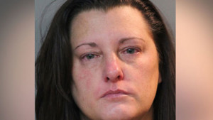 Dana Hager, not a bad mugshot. But it looks like you've been crying, dear.