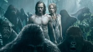 Alexander Skarsgard is Tarzan in the Warner Bros. Pictures' presentation The Legend of Tarzan. Margot Robbie is Jane.