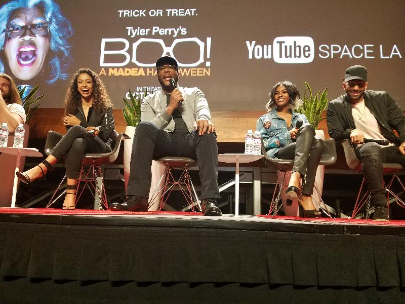 Tyler Perry Boo A Madea Halloween Cast Do Youtube Space