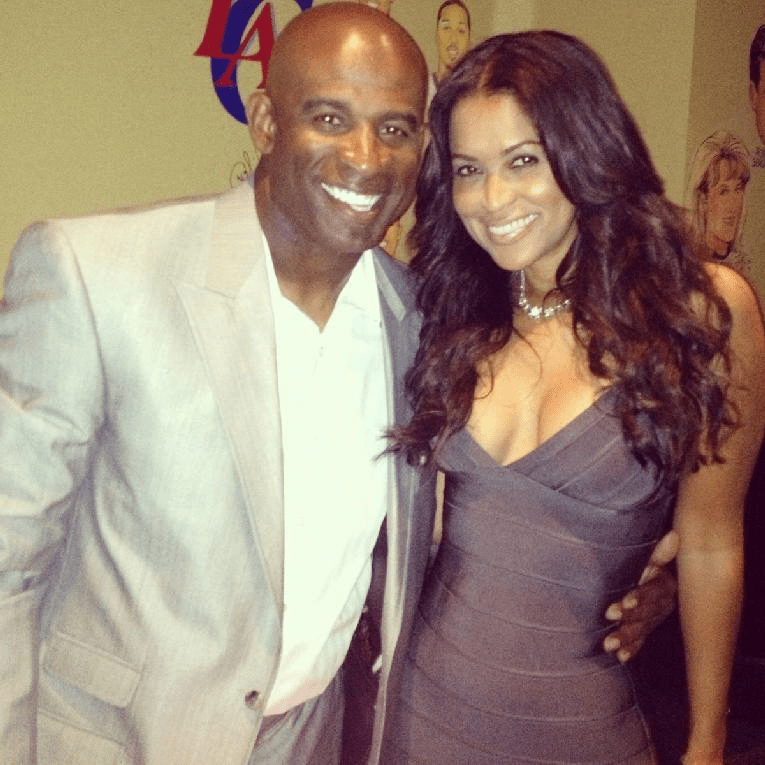Tracey Edmonds Reveals She and  My Love  Deion Sanders Are Engaged 7fabba448