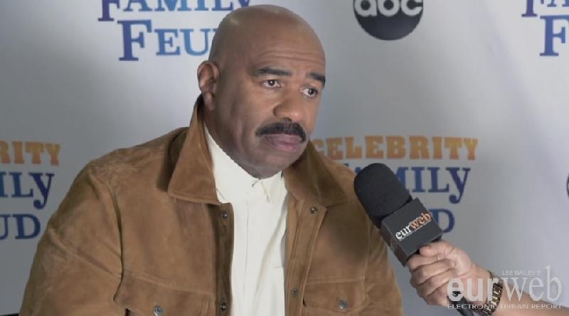 steve harvey - eurweb screenshot