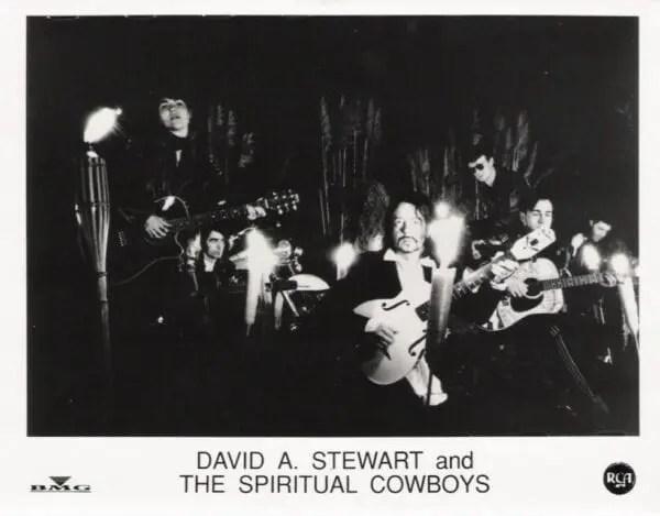 Dave Stewart Promo Photograph - Normas Galley - Spiritual Cowboys 2
