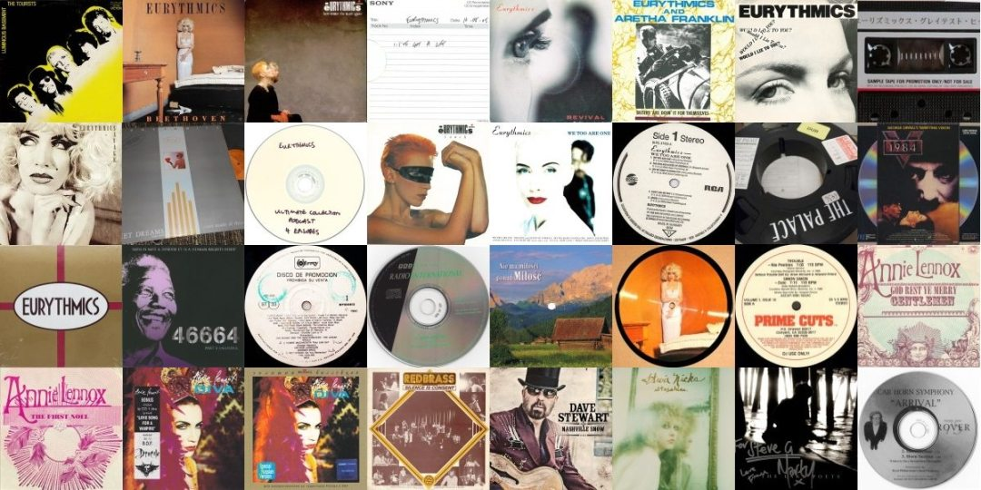 Ultimate Eurythmics Discography Update October 2015