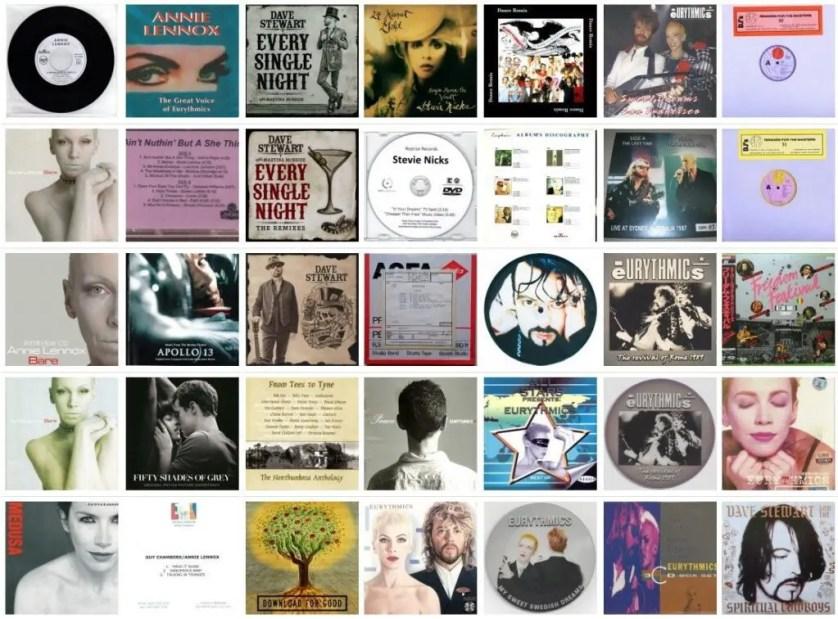 Ultimate Eurythmics Discography - November 2015