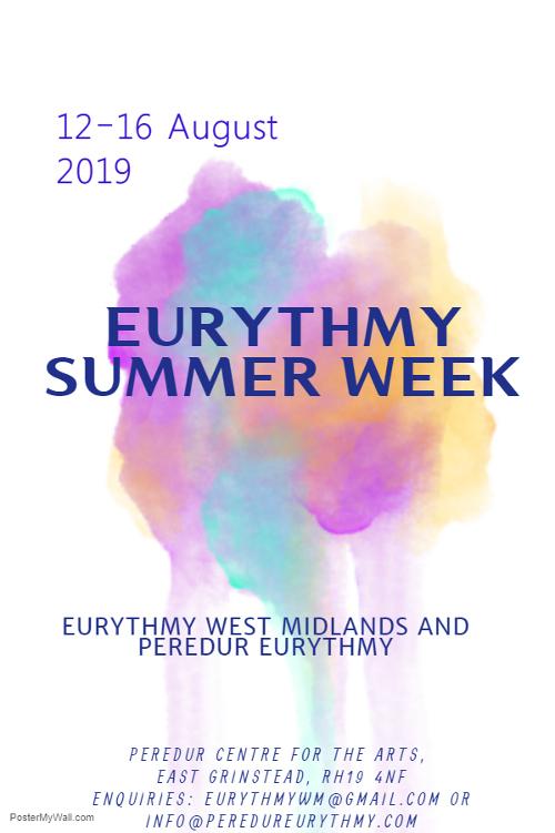 Eurythmy summer week 2019