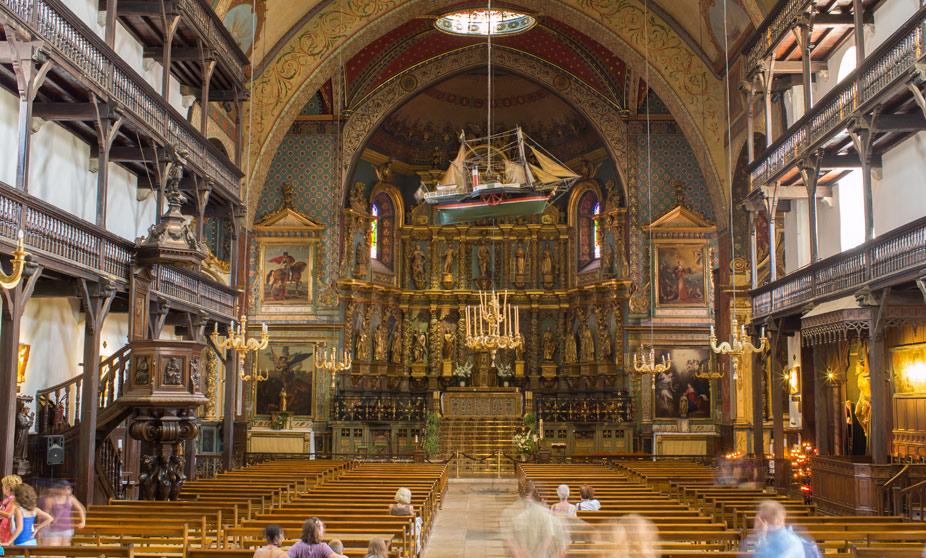 Resultado de imagen de Saint Jean de Luz eglise saint jean baptiste